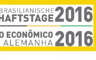34. Deutsch-Brasilianischen Wirtschaftstage 2016 in Weimar